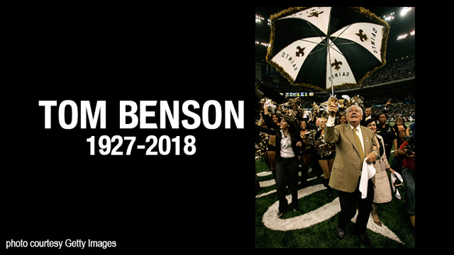 Tom Benson, owner of New Orleans Saints and Pelicans, passes away at 90